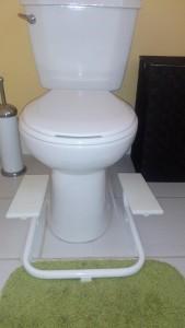 banc toilette
